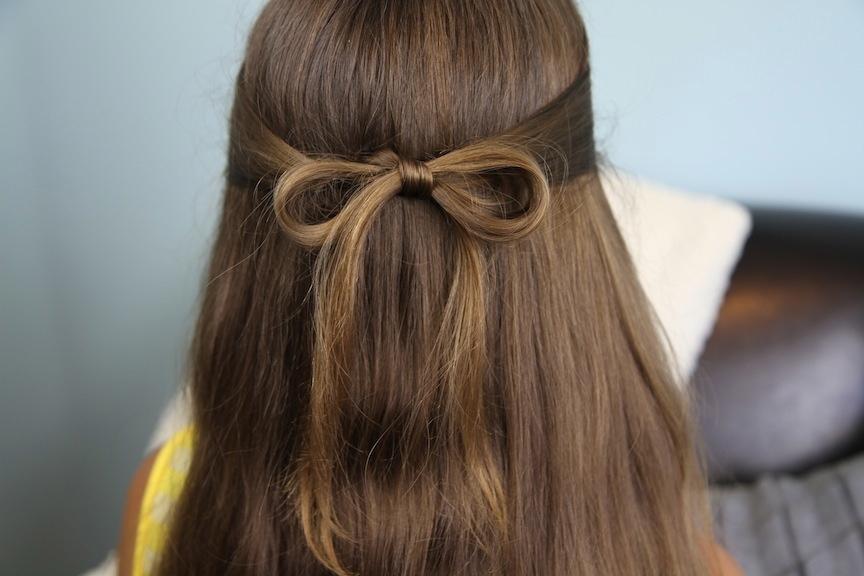 Astounding 15 Easy Everyday Hairstyles To Try Hair Bow Guff Short Hairstyles Gunalazisus