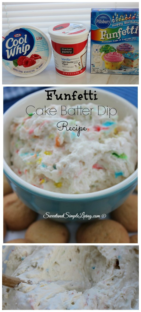 Cake Batter You Can Just Eat Recipe