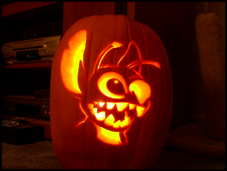 Disney themed carvings the happiest pumpkins on earth