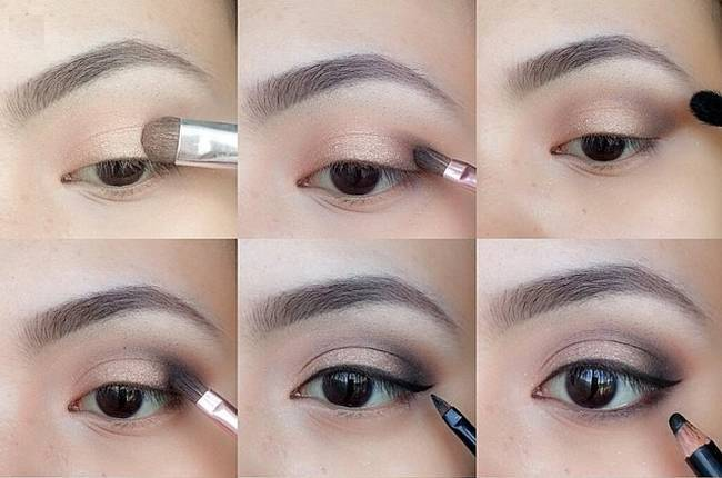 A touch of dark eyeshadow toward the outer corners of your eyes can add incredible depth and drama with just a little effort. This is a perfect look that ...