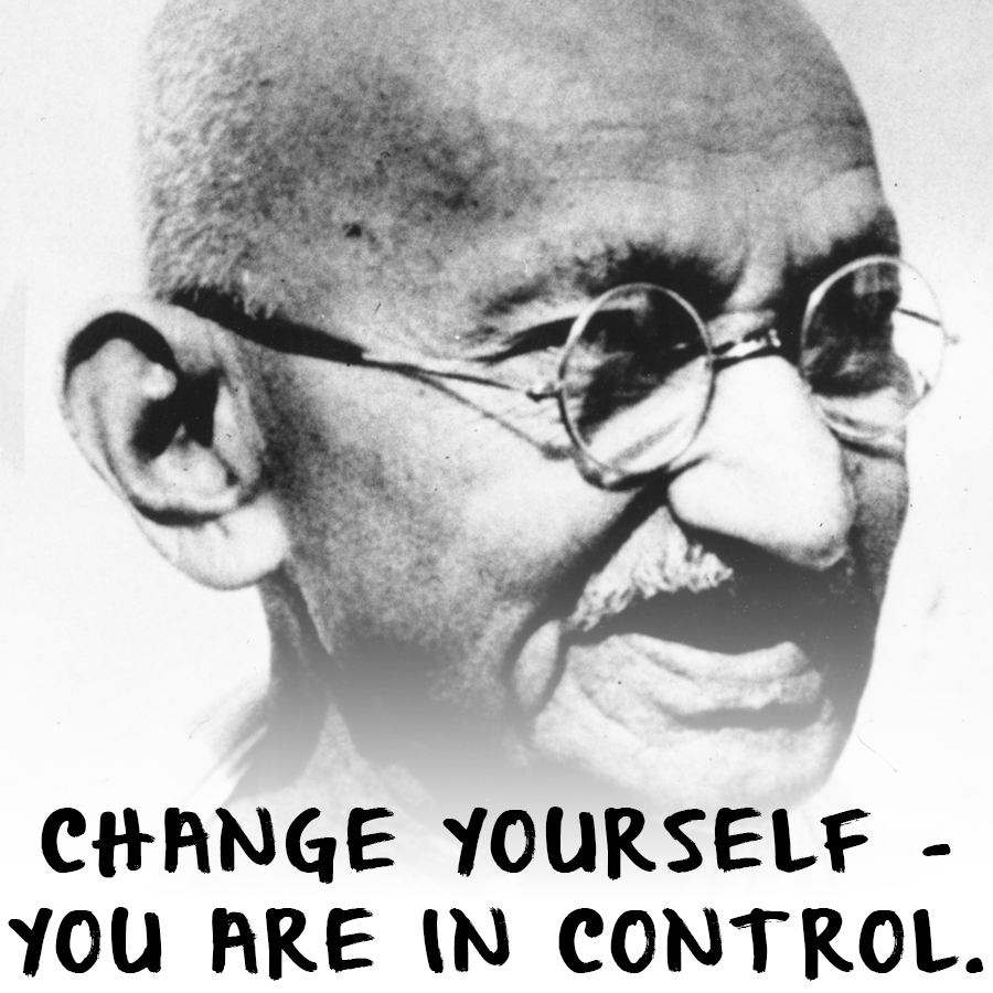 Best Quotes From Gandhi - Above All