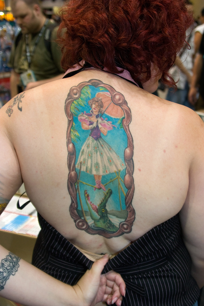 16 even more awesome disney tattoos haunted mansion