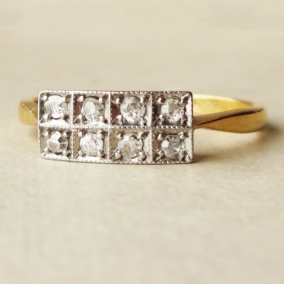 15 Non Traditional Engagement Rings Worth Considering Vintage Art Deco Guff