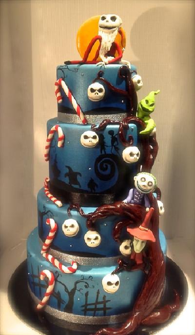 Amazing Halloween Cakes The Nightmare Before Christmas