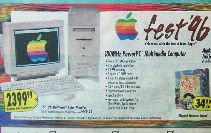 What Black Friday Looked Like In 1996