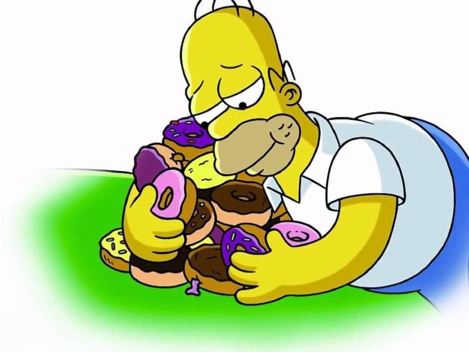 """Résultat de recherche d'images pour """"doughnut homer simpson"""""""