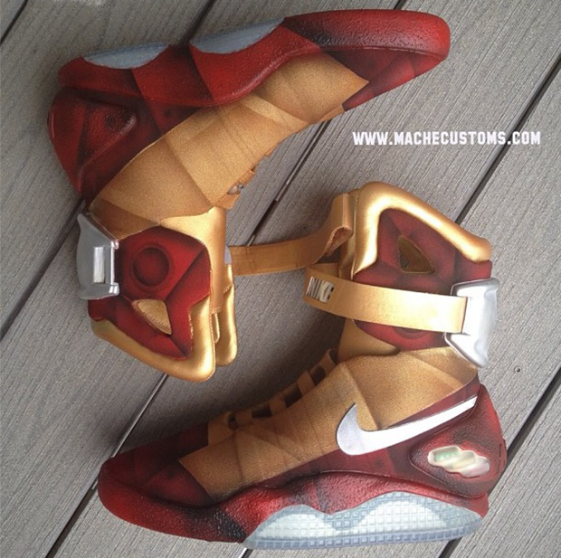 Most Expensive Nike Shoes In The World nike-air-mag-iron-mag-custom-2