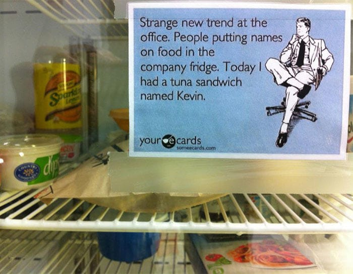 And You Thought Your Office Was Passive Aggressive Tuna