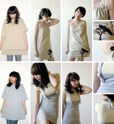 Stylish Clothing You Can Make At Home 2 Shirt Dress Guff