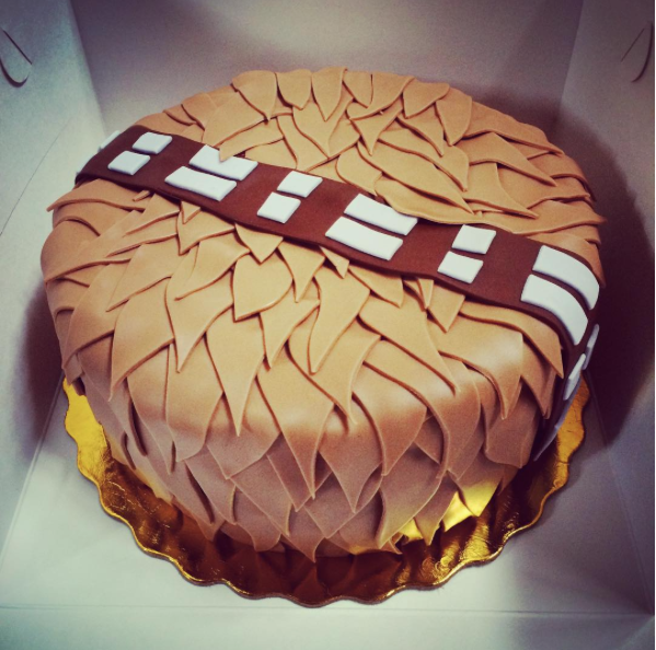 Star Wars Cakes That Even A Sith Would Like Chewbacca