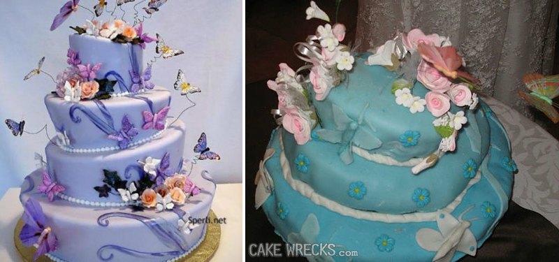 Image result for wedding cake disasters