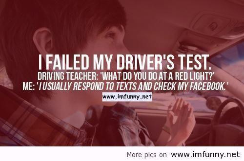 Failed Exam Funny