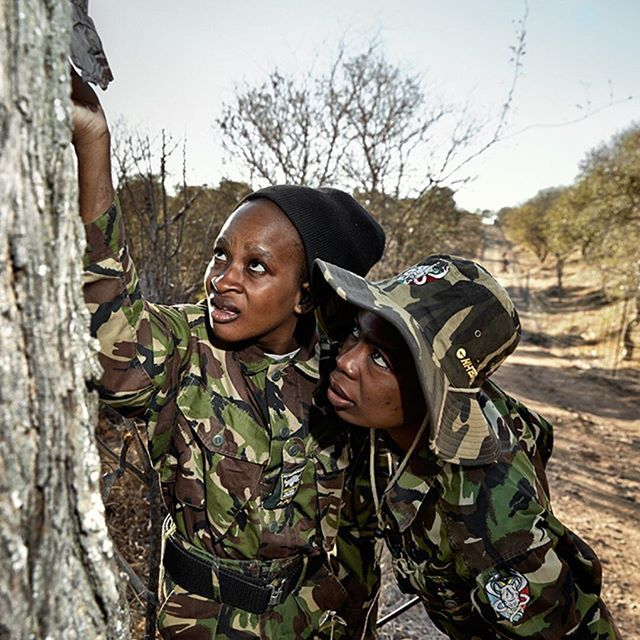 Meet the Badass Women of the Black Mamba Anti-Poaching Unit