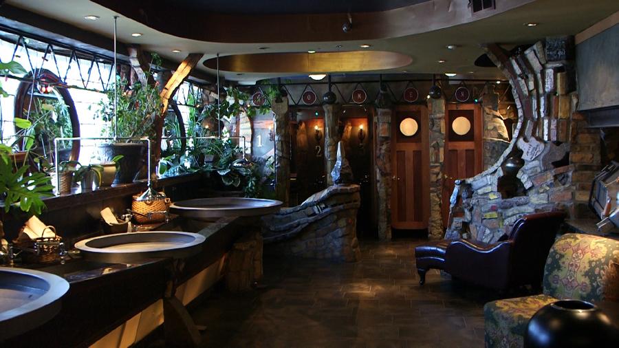 Drömbadrum hotell restaurang