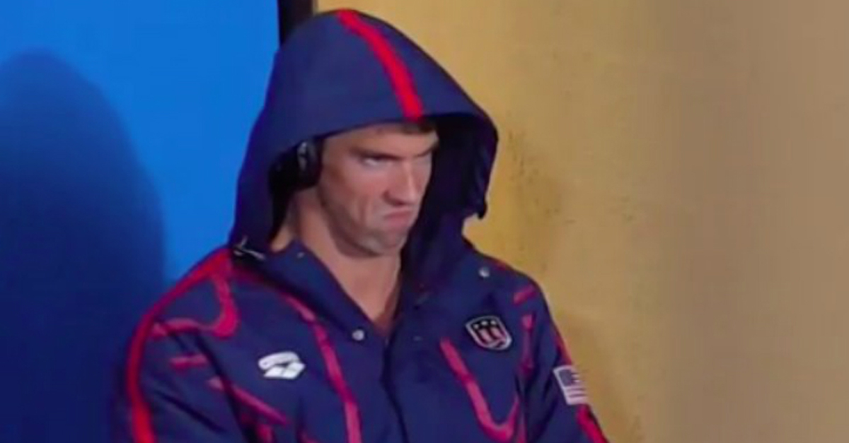The Internet Had A Field Day With Michael Phelps' Intense Game Face