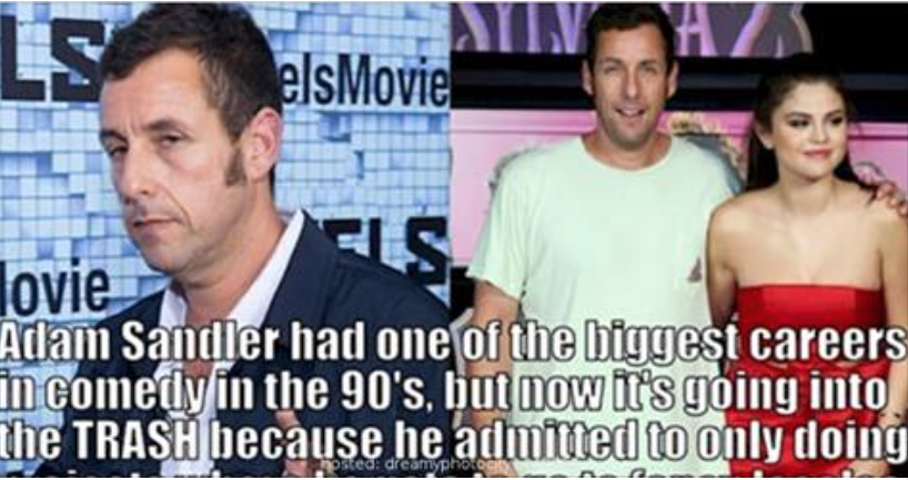 life and career of adam sandler This is your life: adam sandler and funny people it's tough to say exactly when adam sandler stopped being who better to put sandler's career crisis.