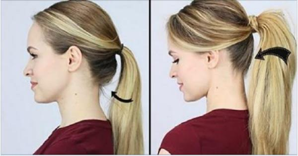 You've Been Tying Your Hair Completely Wrong Your Whole Life. Here's How To Do It RIGHT!