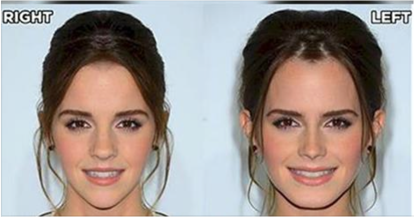 Here's What Your Favorite Celebrities Would Look Like If They Had Perfectly Symmetrical Faces