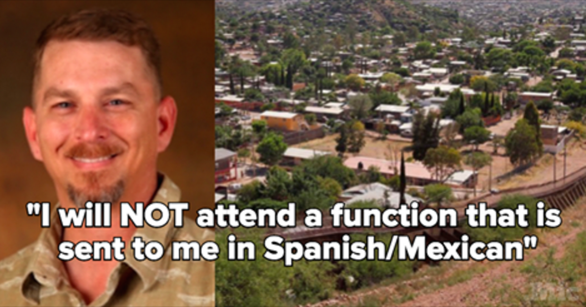 This Mayor Refused An Invite Because It Had A Spanish Translation, Even Though He Lives In Arizona