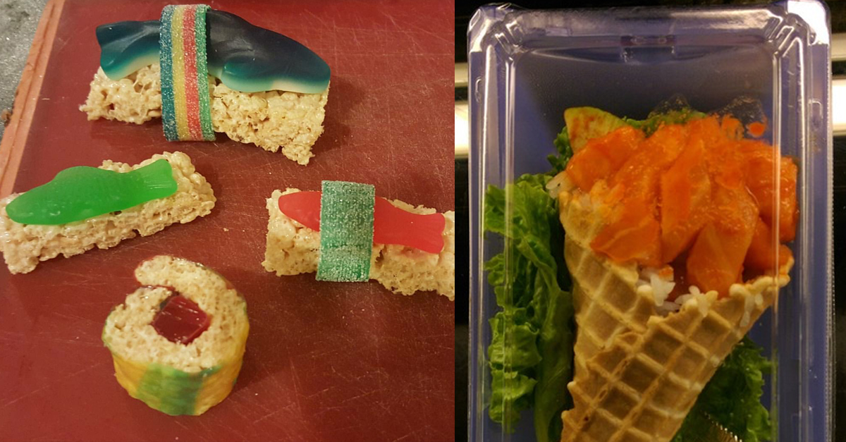 Love Sushi? You Won't Anymore After Seeing These Abominations