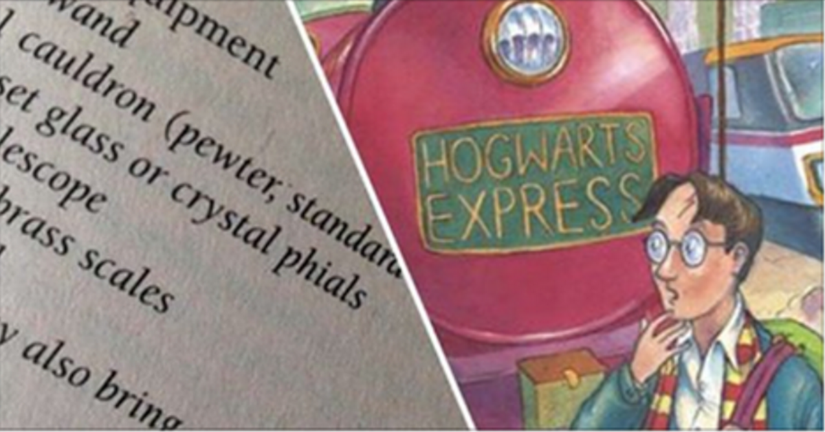You Could Earn A Fortune By Finding A Typo In The First 'Harry Potter' Book