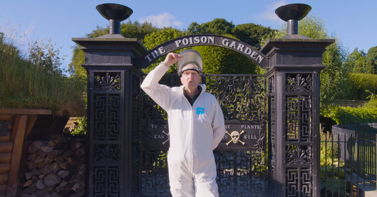 Take A Video Tour Of The World's Deadliest Garden Where Every Plant Could Kill You