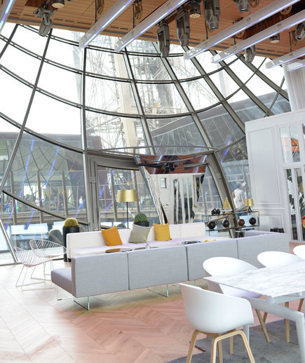 There is a secret apartment hidden inside the eiffel tower for Apartment in eiffel tower