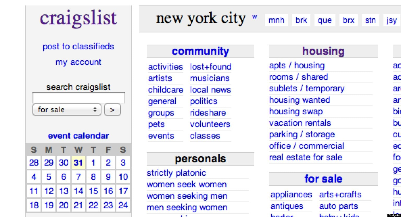 craigslist writing jobs
