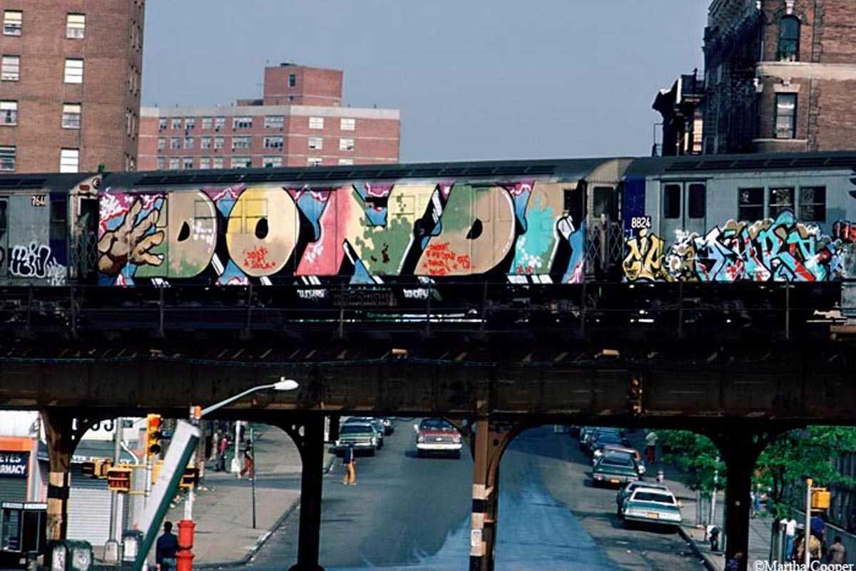 The rise of graffiti art