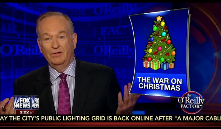 stop trying to make the war on christmas a thing its never going to happen - The War On Christmas