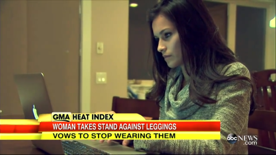 should women stop wearing leggings her argument hasn t a leg to